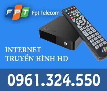 lắp internet wifi và truyền hình FPT Thái Bình