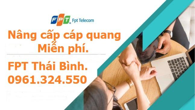 nâng cấp cáp quang FPT Thái Bình