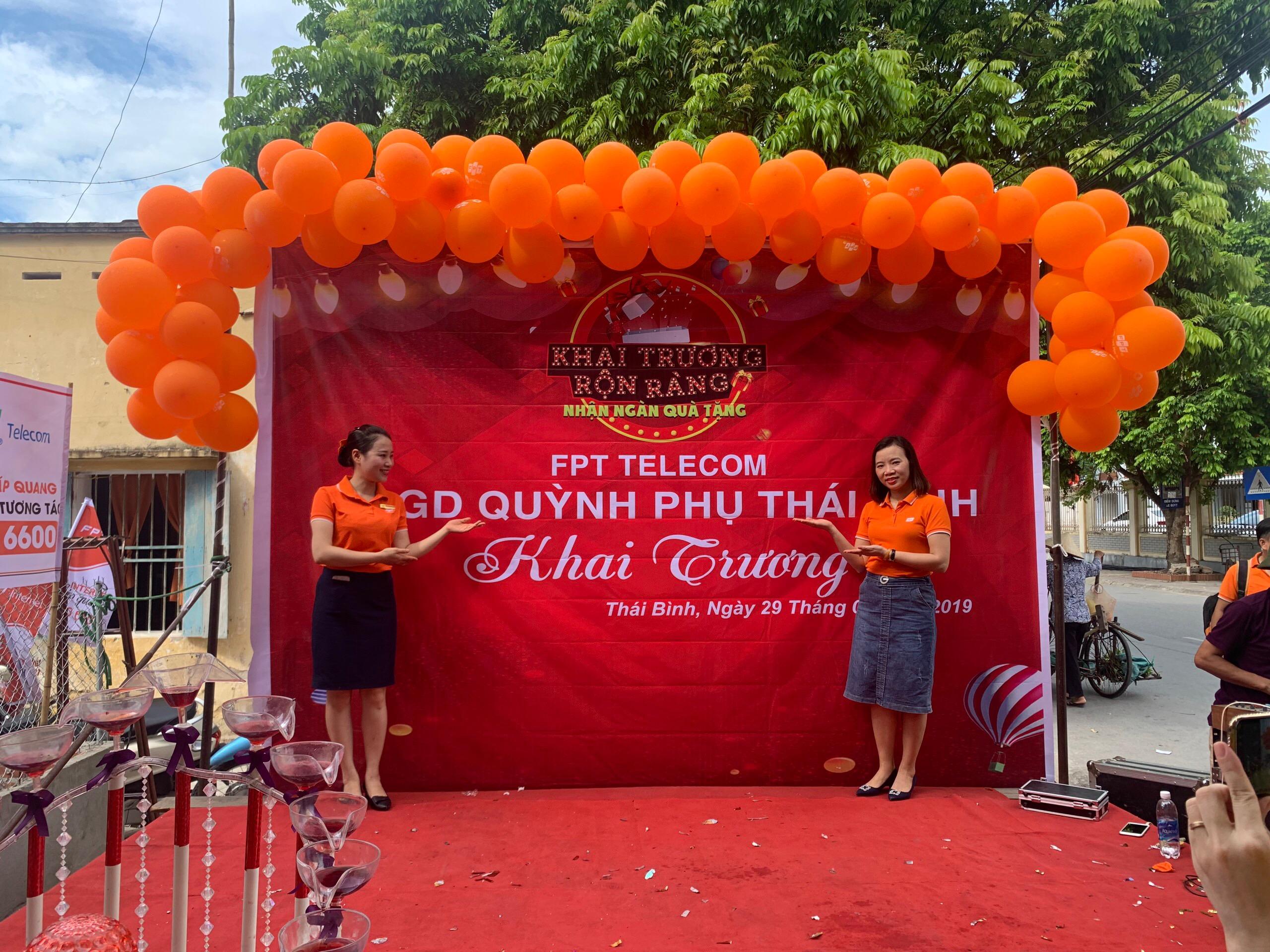 FPT Quỳnh Phụ Khai Trương